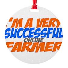 Online Farmer Ornament