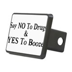 Yes To Booze Rectangular Hitch Cover