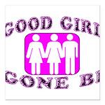 Good Girl Gone Bi Square Car Magnet 3