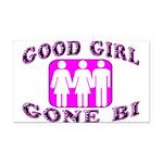 Good Girl Gone Bi Rectangle Car Magnet