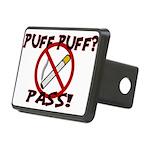 Puff Puff Pass Rectangular Hitch Cover