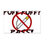 Puff Puff Pass Rectangle Car Magnet