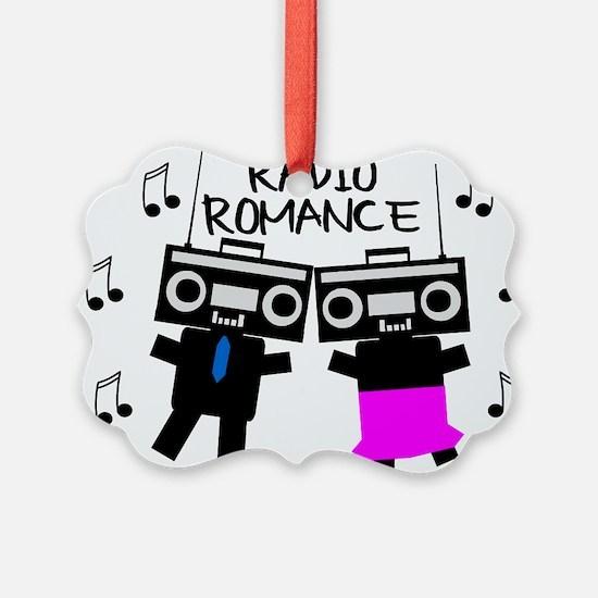 Radio Romance Ornament