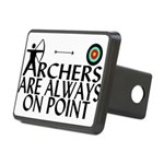 Archers On Point Rectangular Hitch Cover
