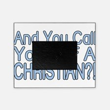 So Called Christian Picture Frame