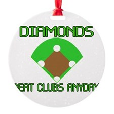 Diamonds Beat Clubs Ornament