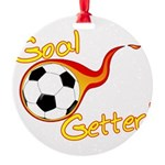 Goal Getter Round Ornament