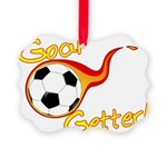 Goal Getter Picture Ornament