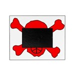 Peace Skull Picture Frame