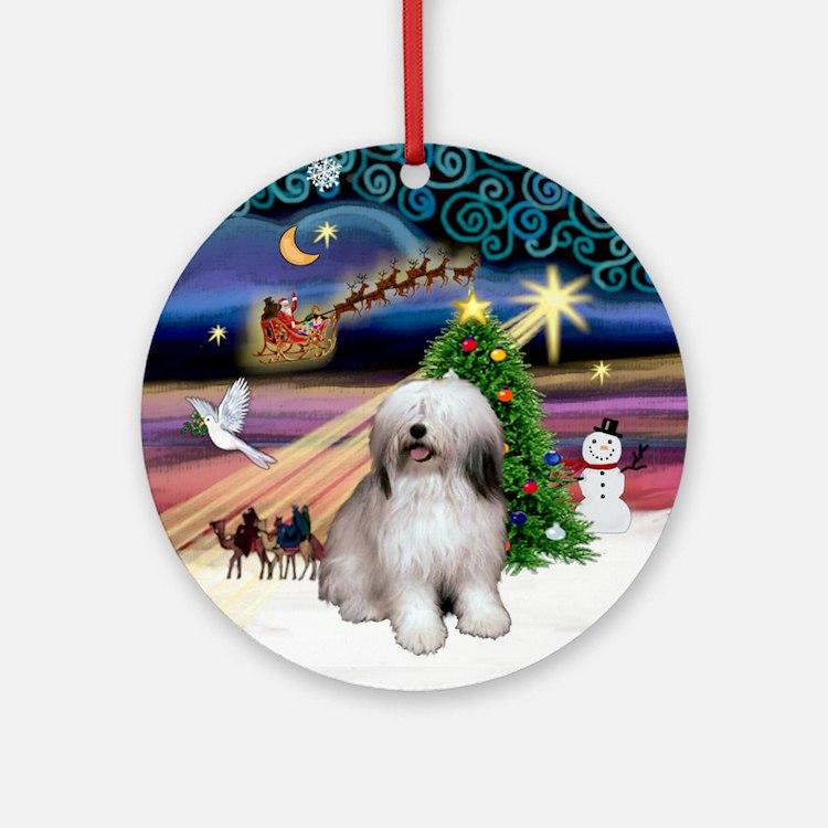 Xmas Magic & PON (1) Ornament (Round)