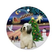 Xmas Magic & PON Ornament (Round)