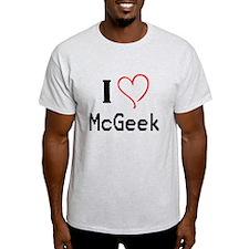 I <3 McGeek T-Shirt