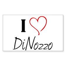 I <3 DiNozzo Decal