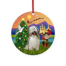 Xmas Fantasy & PON Ornament (Round)