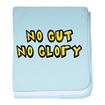 FIN-no-gut-no-glory.png baby blanket