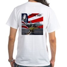 Tomcat Logo & plane T-Shirt
