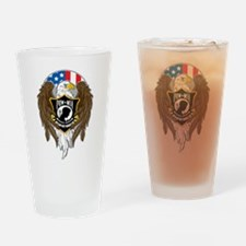 POW/MIA Eagle Drinking Glass