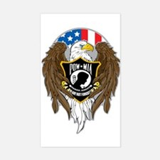 POW/MIA Eagle Decal