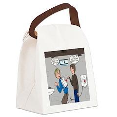 Hand Dryer Jetpack Canvas Lunch Bag