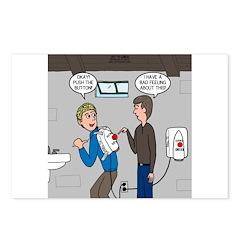 Hand Dryer Jetpack Postcards (Package of 8)