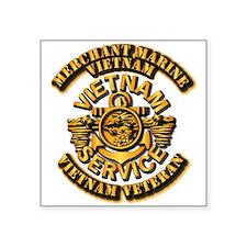 Usmm - Merchant Marine Vietnam Vet 1 Sticker