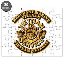 Usmm - Merchant Marine - Vietnam Vet - 1 Puzzle