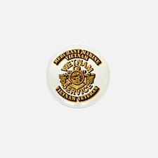 Usmm - Merchant Marine Vietnam Vet 1 Mini Button