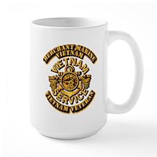 USMM - Merchant Marine - Vietnam Vet - 1 Ceramic Mugs