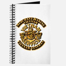Usmm - Merchant Marine - Vietnam Vet - 1 Journal