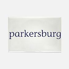 Parkersburg Rectangle Magnet