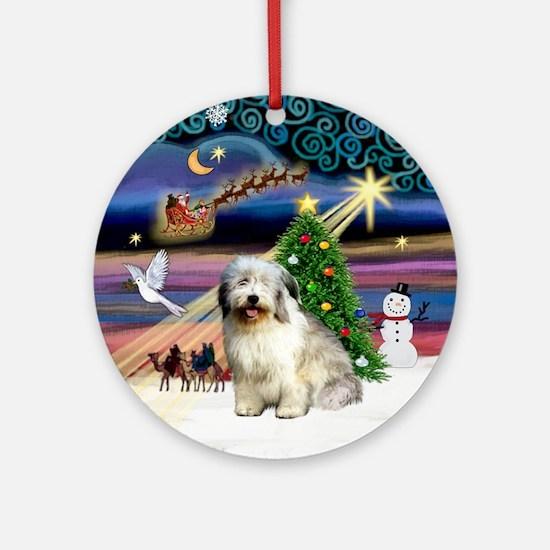 Xmas Magic & PON Ornament (Round)