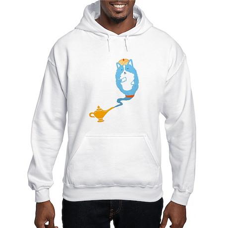 Corgi Genie - Hooded Sweatshirt