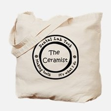 Lab is good. The Ceramist Tote Bag