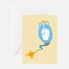 Corgi Genie - 10 Pack Greeting Cards