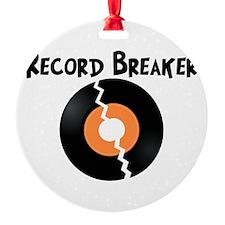 Record Breaker Ornament