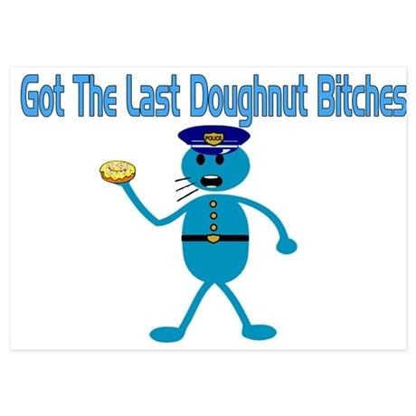 Last Donut.png 5x7 Flat Cards