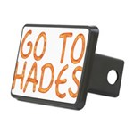 Go To Hades Rectangular Hitch Cover