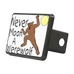 Moon A Werewolf Rectangular Hitch Cover