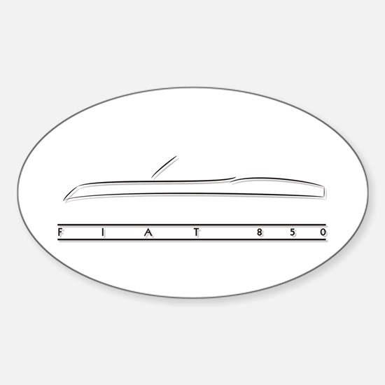 Fiat 850 Oval Decal