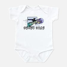 Shred Some Powder Infant Bodysuit