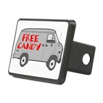 Free Candy Rectangular Hitch Cover