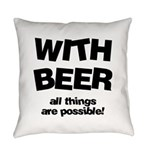 FIN-beer-all-things... Everyday Pillow
