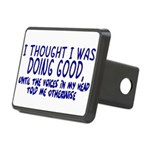 Voices In My Head Rectangular Hitch Cover