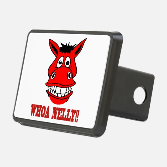 Horse Says Whoa Nelly Hitch Cover