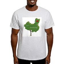 China Adoption Family Tree T-Shirt