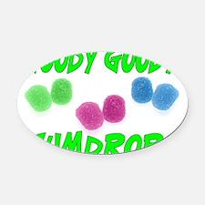 Goody Gumdrops Oval Car Magnet