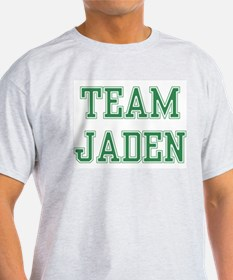 TEAM JADEN  Ash Grey T-Shirt