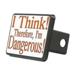 I Think! Rectangular Hitch Cover
