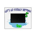 Froggy Dipping Picture Frame
