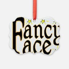 Fancy Face Ornament